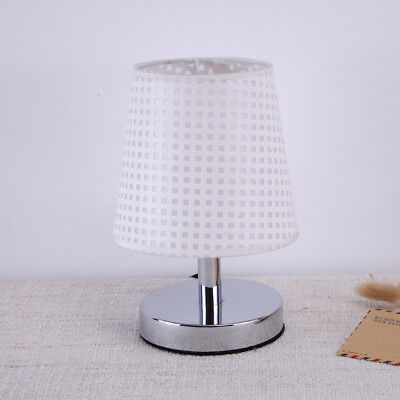 1pc Pastoral Style Table Lamp Dimmable Modern Bedside Lamp Desk Lamp for Bedroom