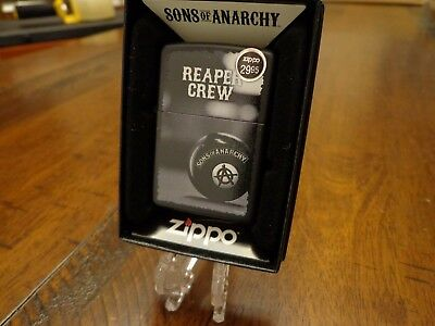 Sons Of Anarchy Reaper Crew Zippo Lighter Mint In Box