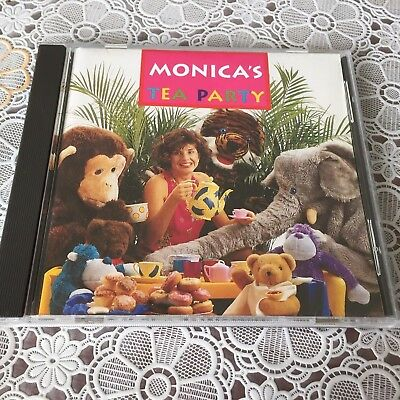 Monica Trapaga  - Monica's Tea Party - Abc 1993 - Phonogram Rare Cd