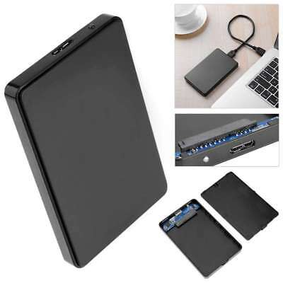 "2.5"" Hard Drive SATA USB3.0 Caddy Enclosure External Casing Laptop HDD SSD SSHD"
