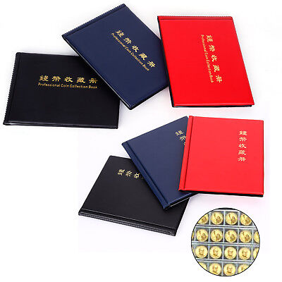 Black Coin Holder Money Storage Pockets Penny Collection Album Book Collecting