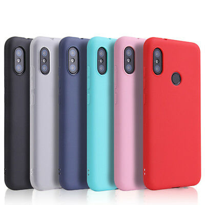 Colorful Matte Skin Soft TPU Silicone Case Cover For Xiaomi Mi A1 A2 Redmi Note5