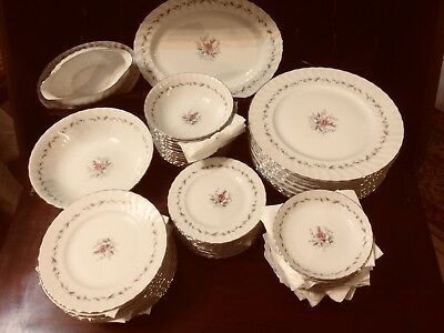 12 Place Setting 1880's Barker Brothers 85 Piece MINT Japan Dinnerware China