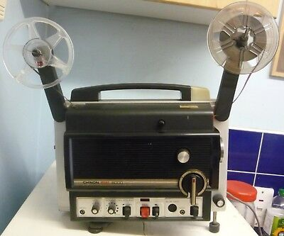 CHINON SOUND 8000 SUPER 8  CINE PROJECTOR with three free films .