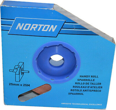 Norton Handy Roll R222 100 Grit 25mm x 25m Abrasive