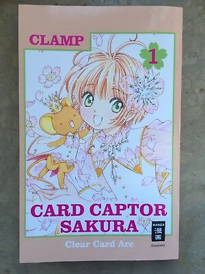 Card Captor Sakura Clear Card Arc Band 1 CLAMP Manga