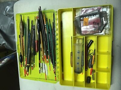 fishing  Match floats, Drennan, And Other Makes