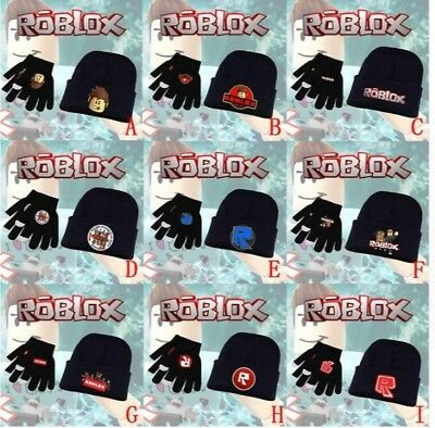 Roblox  kids Winter Hat with + Touch Gloves New