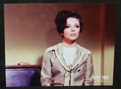 Joan Collins City on The Edge of Forever STAR TREK AUTOGRAPH Signed Photo