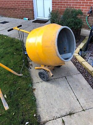 belle cement mixer used