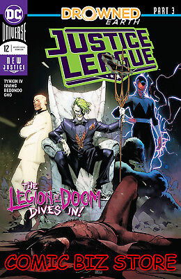 Justice League #12 (2018) 1St Printing Jimenez Main Cover Dc Uni Drowned Earth