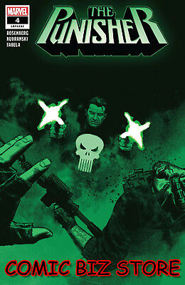 Punisher #4 (2018) 1St Printing Smallwood Main Cover Bagged & Boarded Marvel