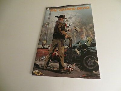 Image The Walking Dead #1 15th Ann. Retailer Edition comic shop variant cover.