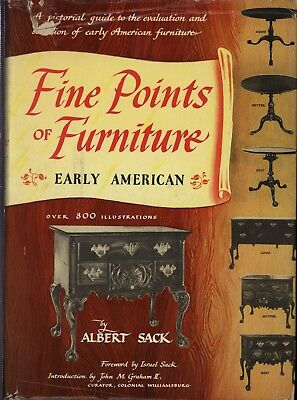 Fine Points Of Furniture By Albert Sack- Book