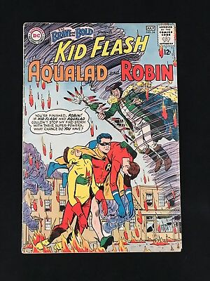 Brave And The Bold 54 FN 5.5 First Teen Titans Key Comic! Titans TV Show