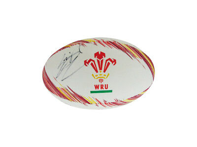 Leigh Halfpenny Signed Wales Rugby Ball + Photo Proof *see Leigh Sign This Ball*