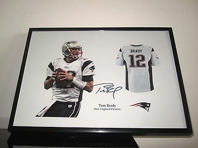 Tom Brady - Autogramm - Trikot - NFL - New England Patriots - Football