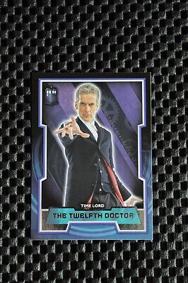 Topps Dr Who (2015) Variant Tardis Card #12 Twelfth Doctor  Peter Capaldi
