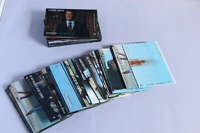 James Bond In Motion FULL BASE SET OF TRADING CARDS  Rittenhouse Archives - 2008