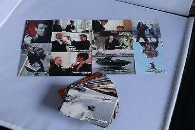 James Bond THE WORLD IS NOT ENOUGH FULL SET BASE TRADING CARDS 1999