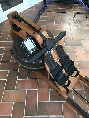 Fluidrower Viking 2 AR Fluid Rower (Adjustable Resistance) Water Rowing Machine