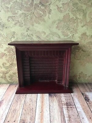 Dolls House Furniture Fire Surround