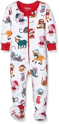 BNWT Hatley Baby Girls' Boys' Holiday Cats Cover All Authentic RRP £25 Sale