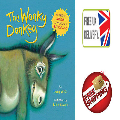 Kids Book The Wonky Donkey Paperback By Craig Smith Bestseller 2018 Hilarious!!!