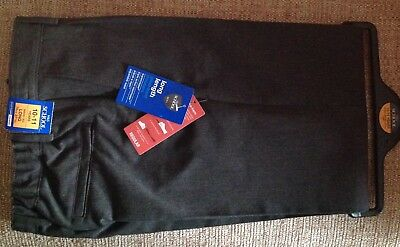 Brand New Boys Grey School Trousers Marks & Spencer Age 10-11 Years