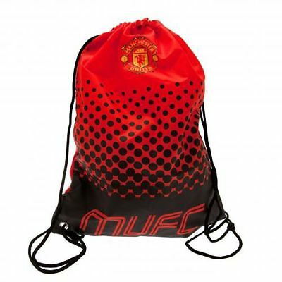 Manchester United F.C Fade Design Gym Bag - Brand New Official Merchandise