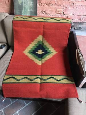 Hand-woven Oaxacan Rug from Mexico