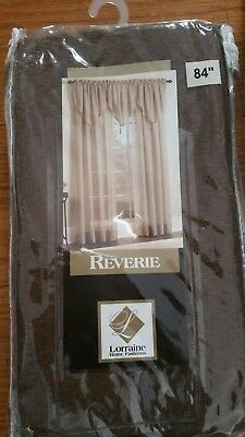 "Reverie, 60""W X 84""L, Sheer Rod Pocket Curtain"