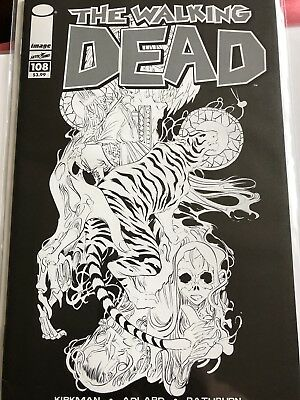 Walking Dead 108 Black And White Cover! Blind Bag 15th Anniversary Variant Comic