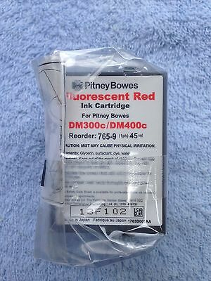 765-9 Pitney Bowes Fluorescent Red Ink Cartridge (Original Pitney Bowes)