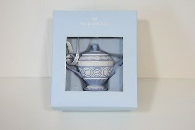 Wedgwood Iconic Teapot Christmas Ornament