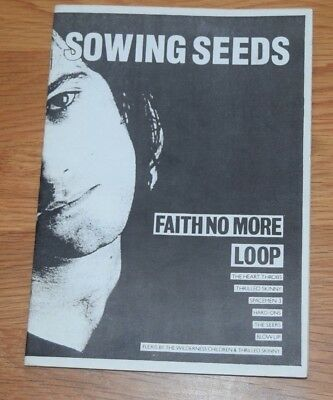RARE Sowing Seeds 5 '88 FANZINE Faith No More Loop Spacemen 3 Thrilled Skinny