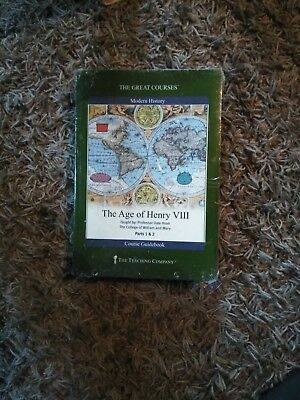 the great courses modern history the age of henry VIII Dvd set. complete with...