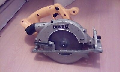 Used DeWALT DC390 18V  Cordless Circular Saw (Bare Unit Only) 165mm