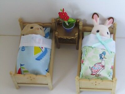 Sylvanian Families Handmade Accessories Bedding Child's Bunk Beds - You Choose