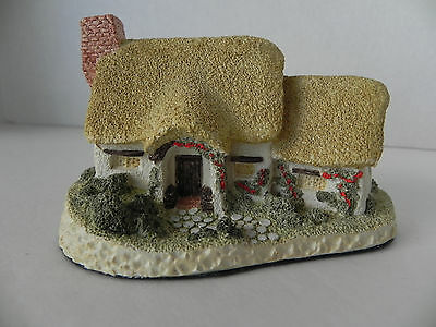 Rose Cottage by David Winter, 1980 - Hand Made & Painted, Great Britain - EUC