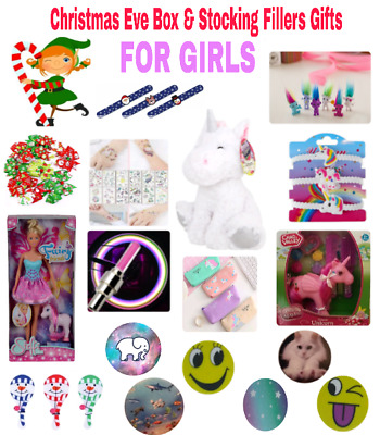 Christmases Eve Box & Stocking Party Bags Fillers Gifts For GIRLS ~UNICORNS ~