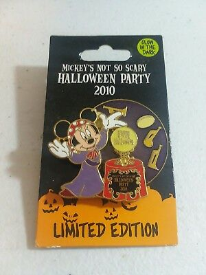 Disney Minnie Madame Leota's Mickey's Not So Scary Halloween Party LE Pin New