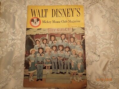 Walt Disney's Mickey Mouse Club Magazine (Winter 1956) (Terry Weiss Signature)
