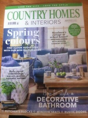 Country Homes & Interiors Magazine March 2017 - VGC