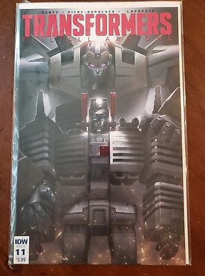 Transformers Till All Are One #11 NM IDW 2017 Mairghread Scott