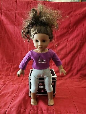 American Girl Gabriela McBride 2017 Doll of The Year - Music Case included!
