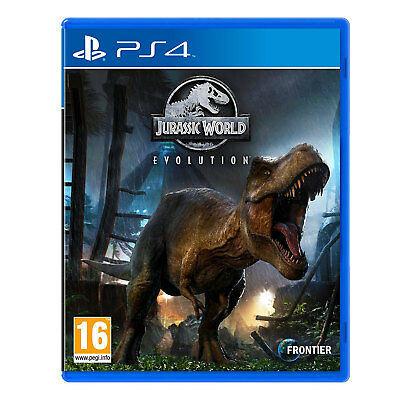Jurassic World Evolution (PS4) Game | Brand New & Sealed | Fast & Free Delivery!