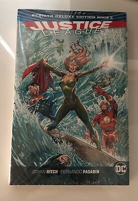 Justice League Hardcover DC Rebirth Book 2 Mint Sealed New NO Reserve