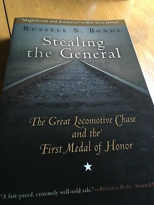 Stealing the General -Great Locomotive Chase &  First Medal of Honor Railroad bo