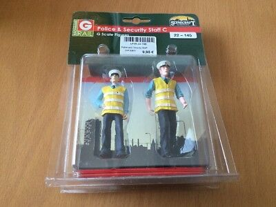 Bachmann G Scale Figures Police & Security Staff C Item 36-1041C New